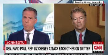 Sen. Rand Paul Continues Dispute With Liz Cheney