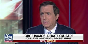 Howard Kurtz Whines About Jorge Ramos Being Allowed To Moderate Democratic Debate