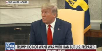 Trump Can't Figure Out What He Said About Iran