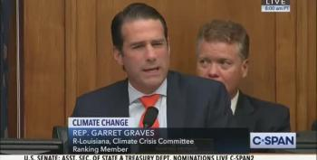 Rep. Garrett Graves Tries And Fails To Impress Greta Thunberg