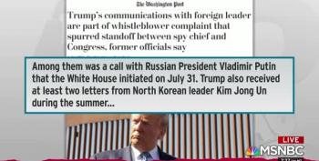 DNI Whistleblower Complaint Concerned Promise From Trump To Foreign Leader