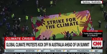 Greta's #ClimateStrike Turns Out Massive Crowds Around The World