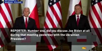 Mike Pence May Also Be Involved In Ukraine Extortion