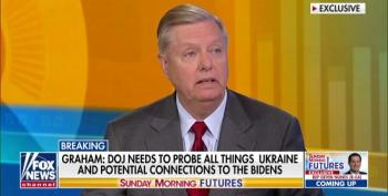 Lindsey Graham Pushes DOJ To Investigate Biden Ukraine Conspiracy