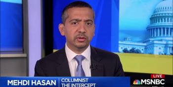 Mehdi Hasan Calls Out Trump's Brazenness For Going After Biden's Son