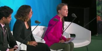 Greta Thunberg's Day At UN Features Firey Speech, Cold Stare At Trump