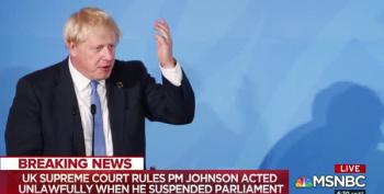 UK Supreme Court Rules That Boris Johnson Basically Lied To The Queen