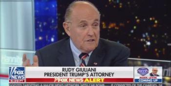 Giuliani Admits He Went To The Ukraine To Investigate Biden