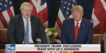 Trump Berates Reporter For Asking Boris Johnson A Tough Question