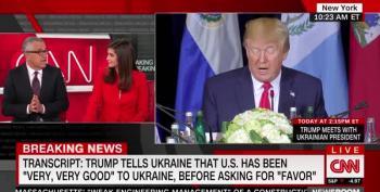 Jeffrey Toobin Shocked At How Bad Ukraine Memo Is For Trump