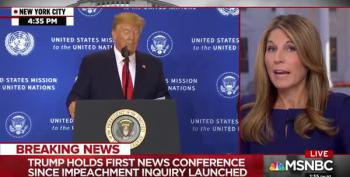 MSNBC Breaks Away From Trump Presser To Debunk His Lies