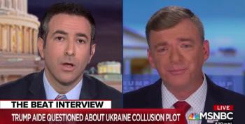 Ex-Trump Staffer Tried Not To Lie To Ari Melber...It Didn't Go Well