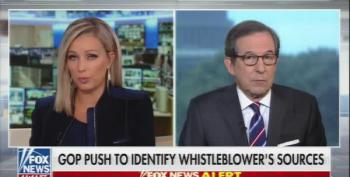 Chris Wallace 'Very Troubled' By Trump Calling Whistle-Blower A Spy