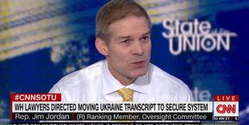 Jim Jordan Launches Barrage Of Allegations Against The Bidens On CNN