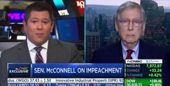 McConnell: 'No Choice' On Senate Trial If House Impeaches Trump