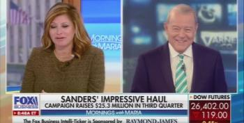 Stuart Varney Does Not Want Sanders' 'Socialist' Donors Teaching School