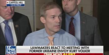 Rep. Jim Jordan Runs Away From Questions About Trump's Latest Abuse Of Power