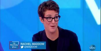 Rachel Maddow And Meghan McCain: A Study In Contrasts