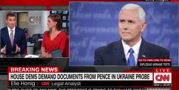 House Democrats Demand Documents From Pence