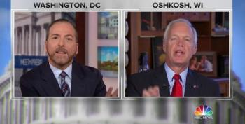 Sen. Ron Johnson Lashes Out At The Press When Asked About Trump's Abuse Of Power With Ukraine
