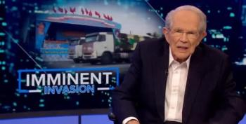 Pat Robertson Scolds Trump For Upcoming Slaughter Of Kurds
