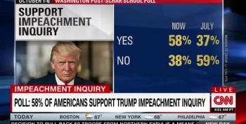 New Washington Post Poll: 49% Of Americans Want Trump Out Of Office