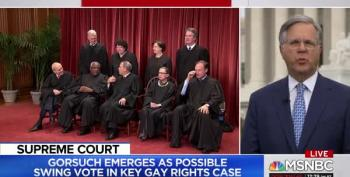 Neil Gorsuch Could Be Swing Vote In SCOTUS LGBQT Discrimination Case