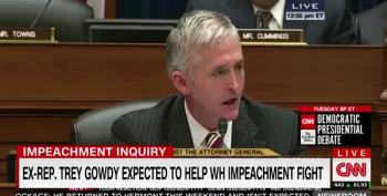CNN Panel Discusses Trey Gowdy Hypocrisy In Future Defense Of Trump