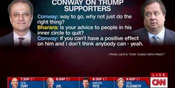 CNN Host 'Can't Get Past' George Conway's Advice