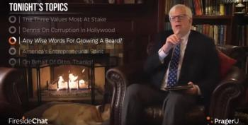 Dennis Prager: Men Grow Beards To Say 'Hello, I'm Not A Female!'