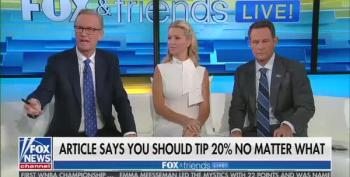 Fox And Friends Loses Argument On Tip To Own Audience