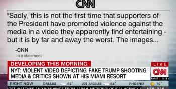 Horrific Video Shown At Trump Doral Shows Trump Slaughtering Media