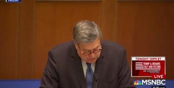 Bill Barr, Speaking At Notre Dame, Blames 'Secularists' For Violence And Drug Abuse