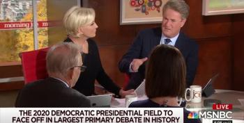 Morning Joe Back In The Comfort Zone: Attacking Warren Policies