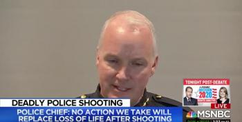White Police Chief Sad Black Community Doesn't Trust Police