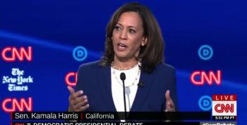 Finally! Senator Harris Brings Up Women's Reproductive Rights In CNN Debate