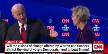 Elizabeth Warren Versus Joe Biden: Big Ideas Or Incrementalism?