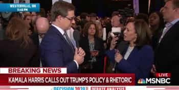 Kamala Harris Makes The Case For Banning Trump From Twitter To Chris Hayes