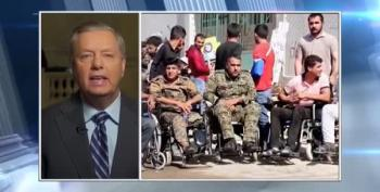 Lindsey Graham Vows To Haunt Trump For Kurds' Slaughter