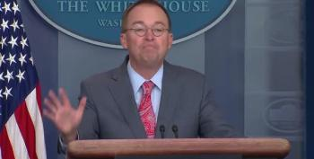 Mulvaney Doesn't Care About Corruption As Doral 'Gets' G7