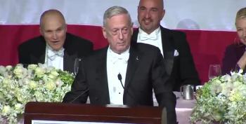 General Mattis Trolls Trump At Alfred Smith Dinner