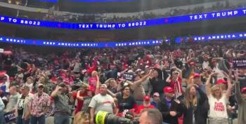 Dallas Trump Rally Sings YMCA