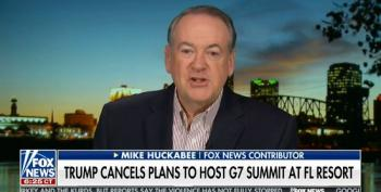 Huckabee Calls Reporting On Trump's Corruption Embarrassing For The Media