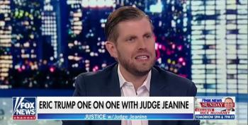 Eric Trump: 'We Stopped Doing Deals' When My Father Went Into Politics