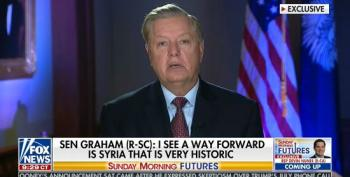 Lindsey Graham Says He's 'Increasingly Optimistic' About Solutions In Syria