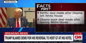 CNN Fact-Checks Trump's Claims In Split Screen