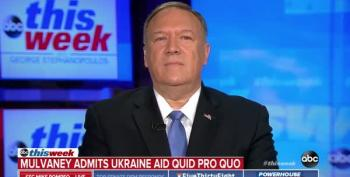 Pompeo Sweats Over Non-Hypothetical Hypotheticals
