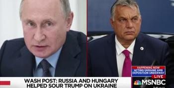 Putin AND Hungary's Leader, Orbán, Helped Turn Trump Against Ukraine
