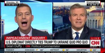 Charlie Dent And Sean Duffy Spar Over Ukraine Testimony