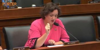 Rep. Katie Porter Gets In Zuckerberg's Face Over Contract Workers